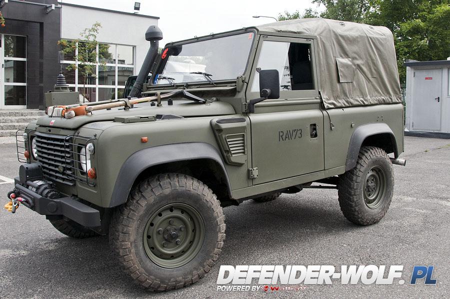 Land Rover Defender 90 Tdi Xd Wolf 171 Mercedes Wolf Pl